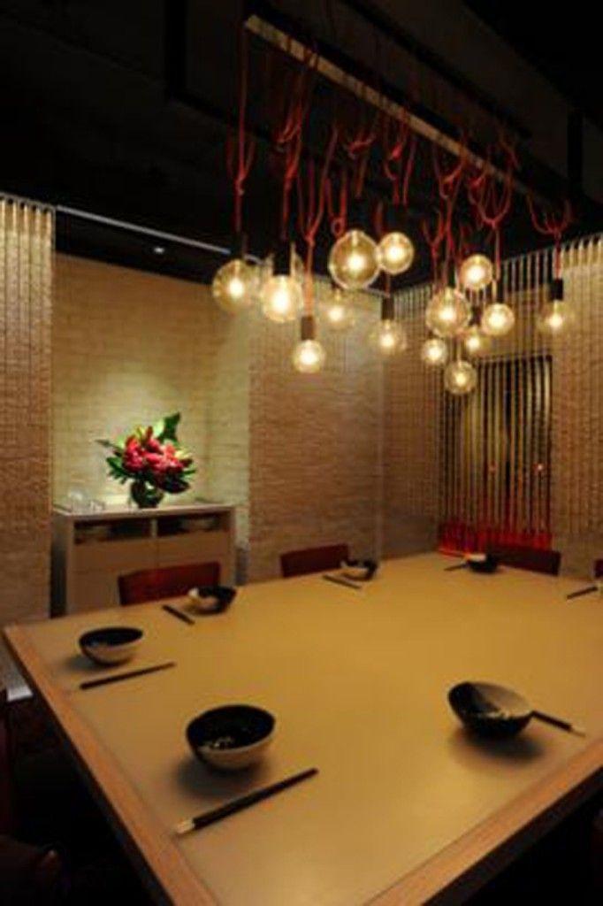 Making Renovation Restaurant Decor Ideas : Cozy Japanesse Restaurant ...