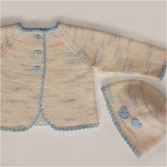 15% Hand knit baby sweater / knit sweater / baby boy/girl sweater ...