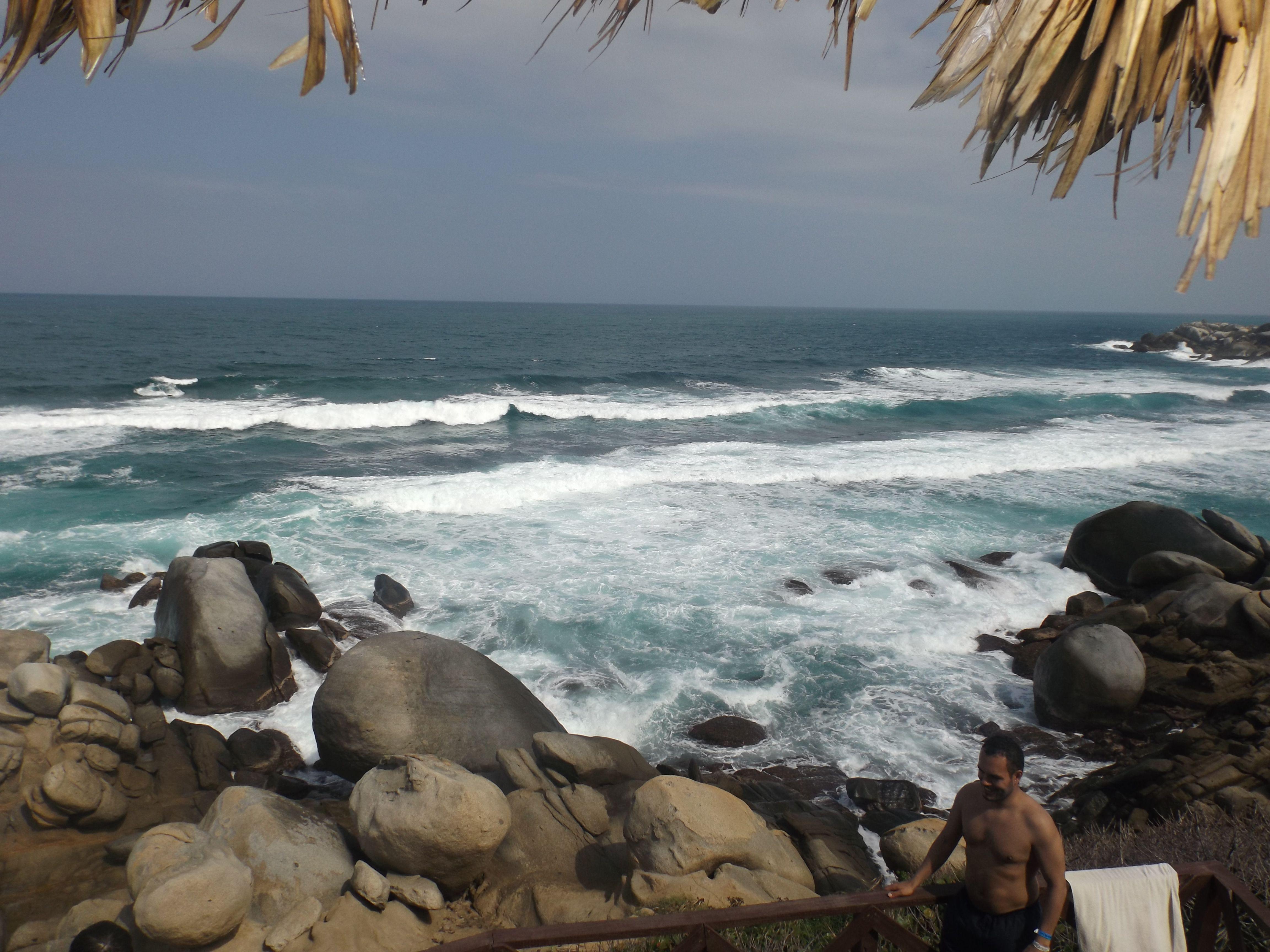 WONDERFUL PLACE FOR ENJOY #BEACH #NATURE #TAYRONAPARK #BEAUTIFUL #SUN