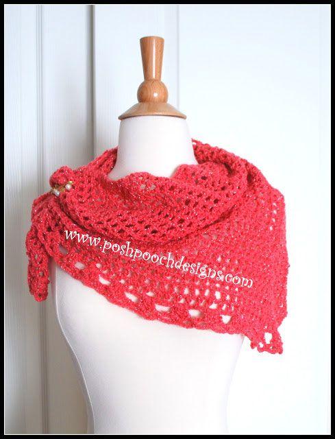 7b052e740 Pin by Joanne Beers Breustedt on CROCHET / KNIT | Crochet triangle ...