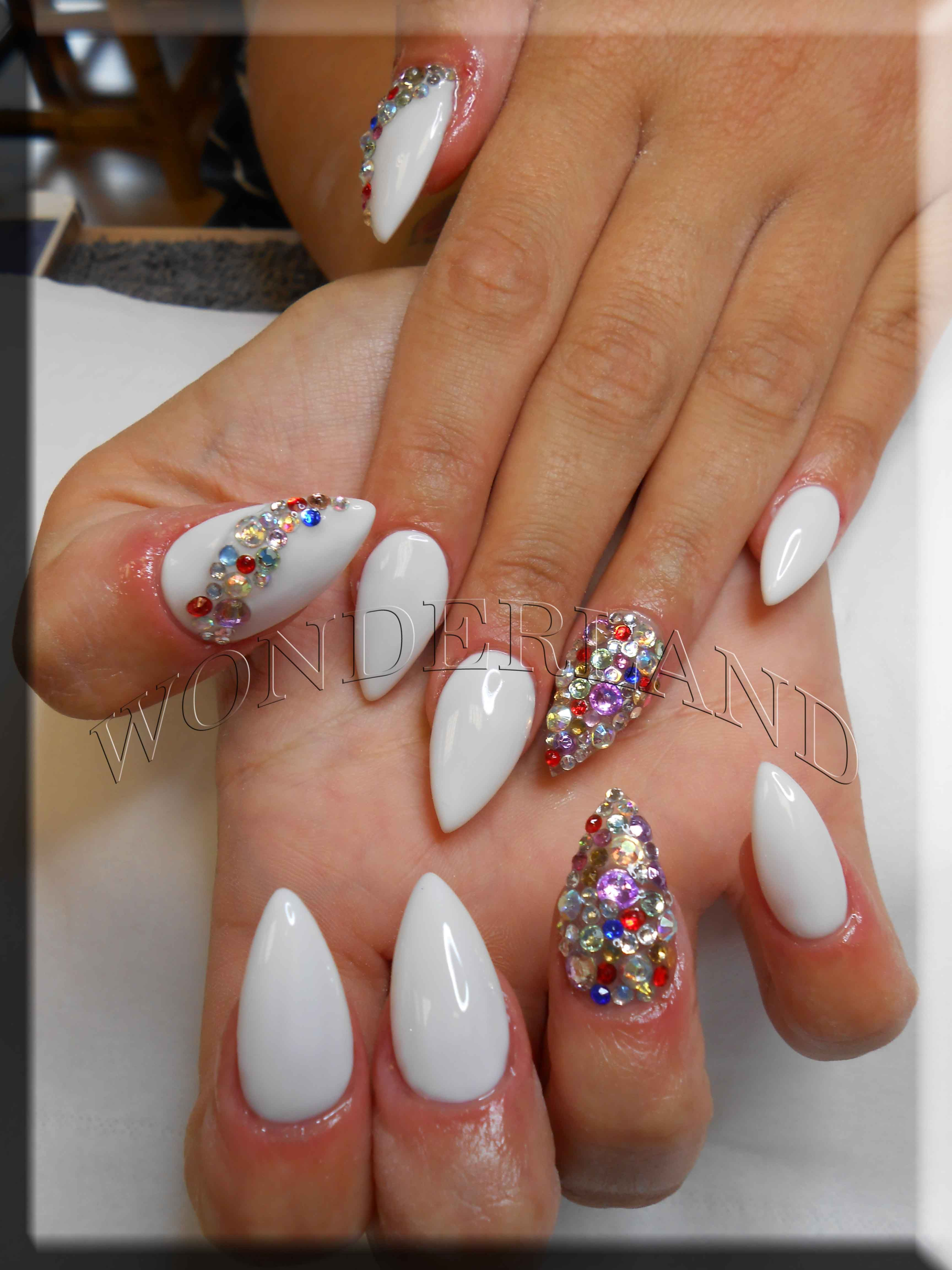 ombre gel nails, wonderland cardiff, nail extensions ...