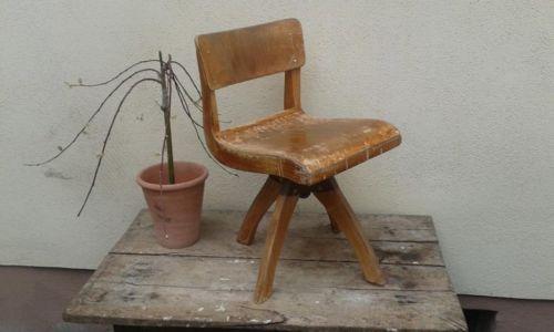 Alter Kinderstuhl Antik Schulstuhl Stuhle Rustikal Antik