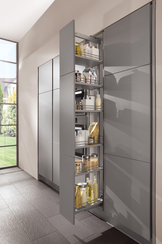 German kitchen design nobilia collection the for Kitchen tall unit design