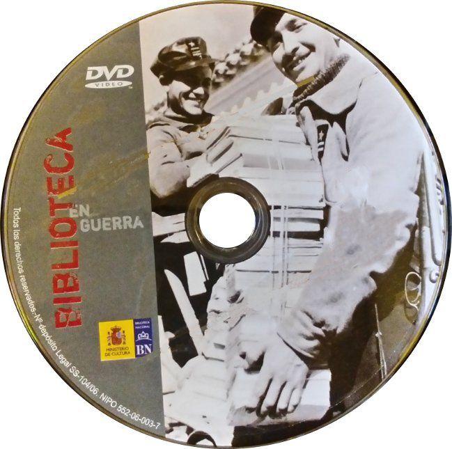 Biblioteca en guerra [Vídeo]: Madrid, 15 de noviembre de 2005 a 19 de febrero de 2006 / producción, Biblioteca Nacional ; guión y dirección, Blanca Calvo, Ramón Salaberría]: https://kmelot.biblioteca.udc.es/record=b1366299~S1*gag