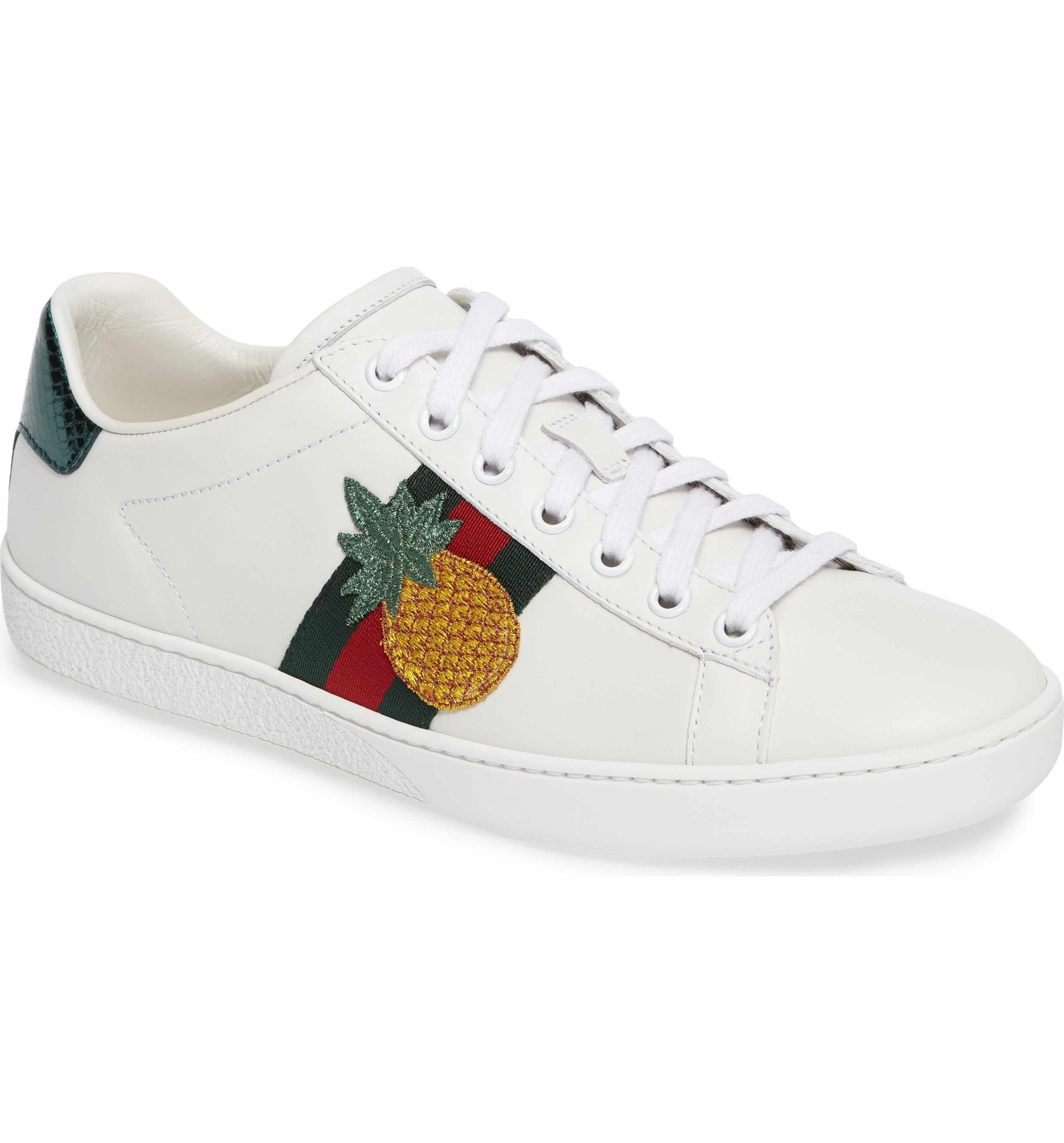 Gucci New Ace Pineapple Sneaker (Women