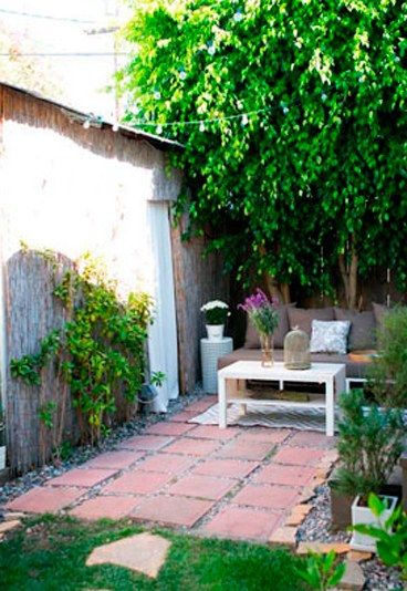 13 ideas para darle vida a tu patio interior pinterest for Decoracion patios interiores