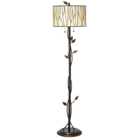Modern lodge deep bronze vine floor lamp my lamp is from pier 1 modern lodge deep bronze vine floor lamp my lamp is from pier 1 craigslist but i like the shade on this currently in dining nook aloadofball Choice Image