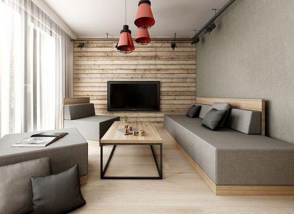 Cloison de conception des panneaux muraux en bois for Decoration salon en bois