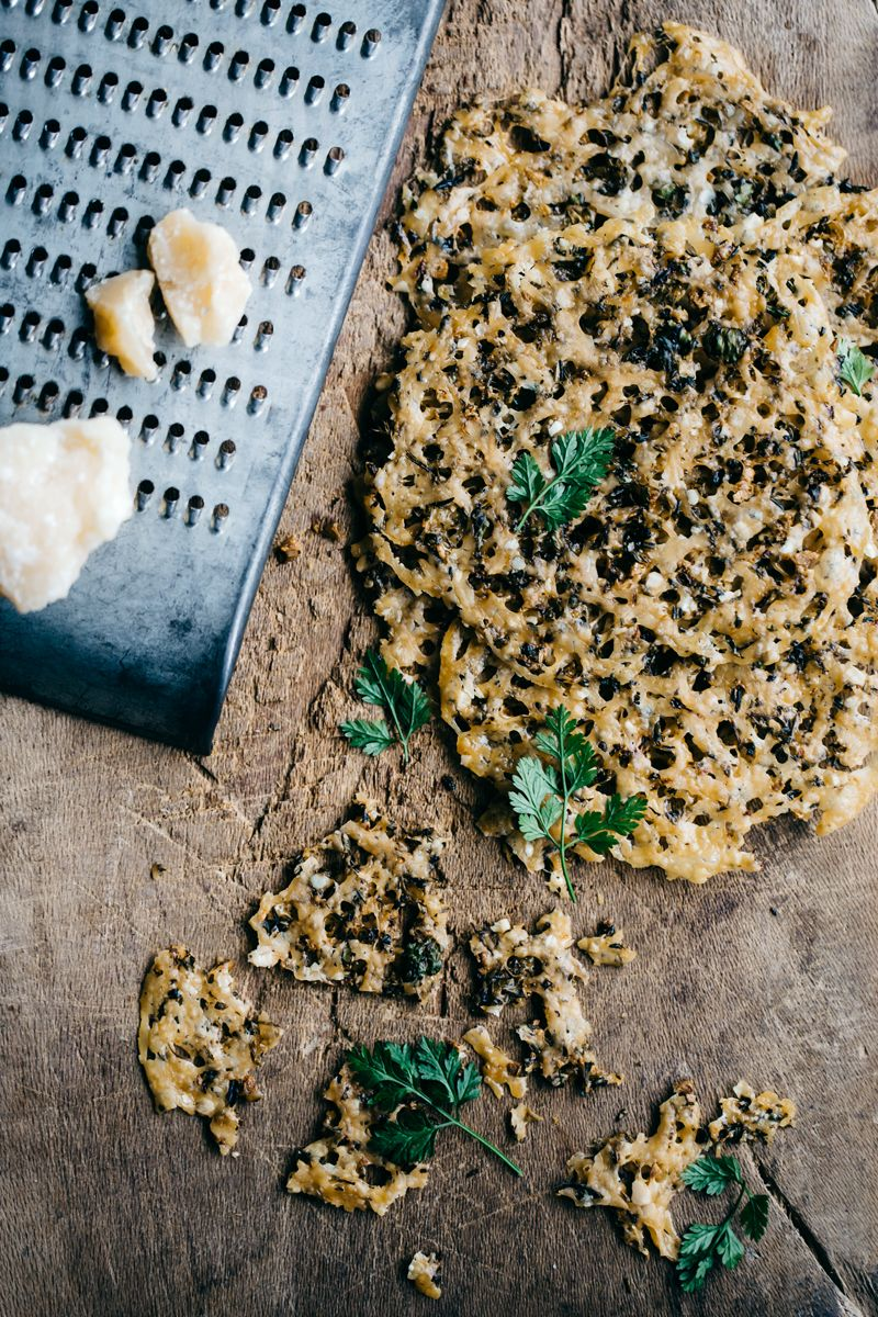 Perfect Nibbles: Parmesan & Herb Crisps