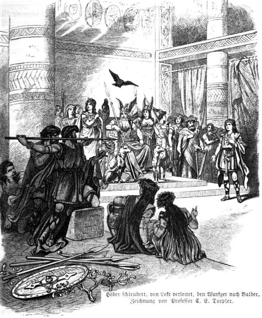 Image of Loki and Baldur's death
