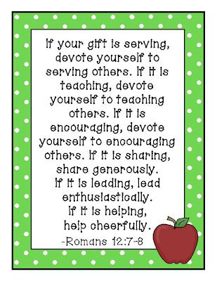 Teacher verse for the week for my classroom pinterest verses teacher verse for the week negle Image collections