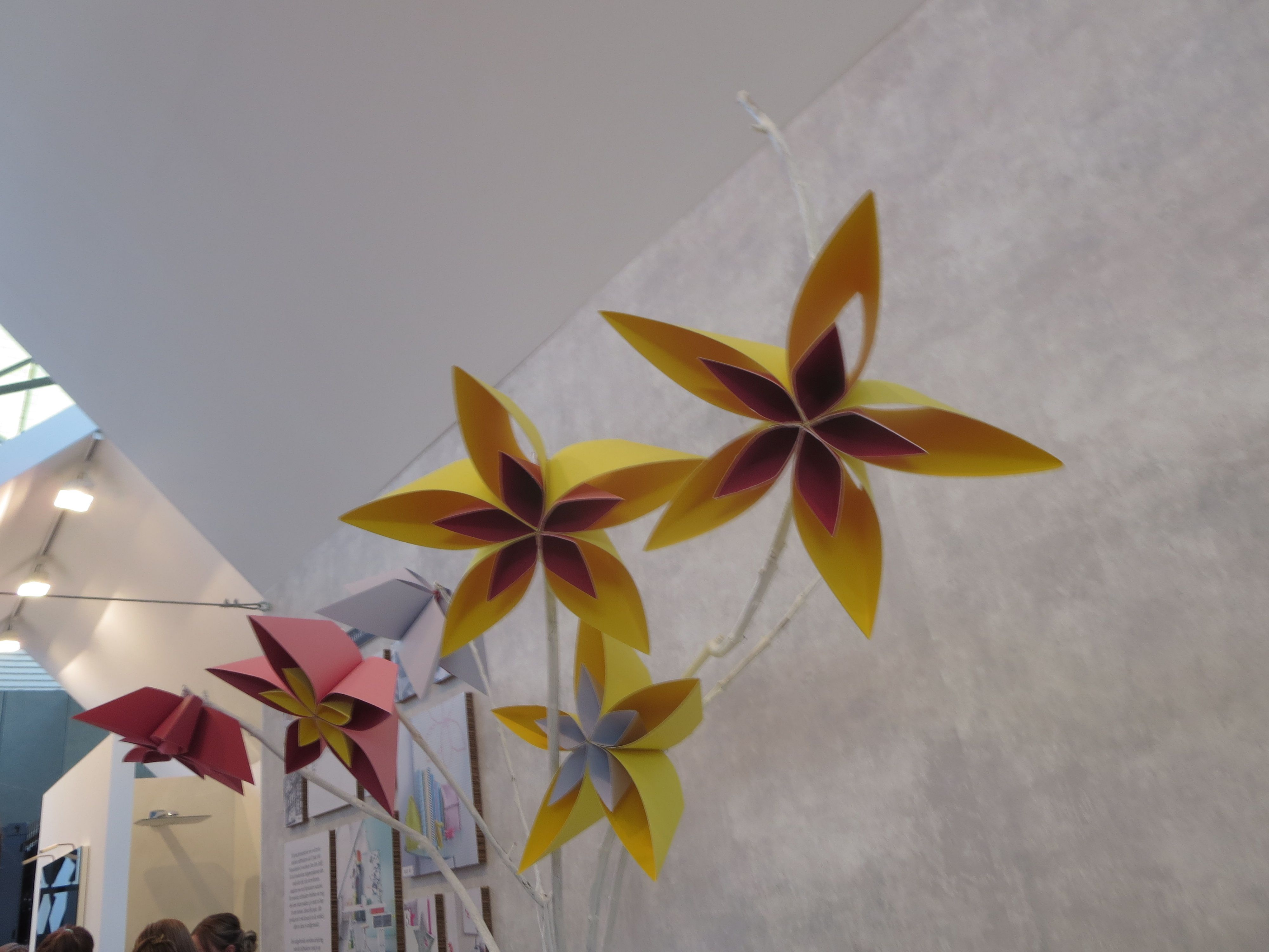 origami paper flowers 2014