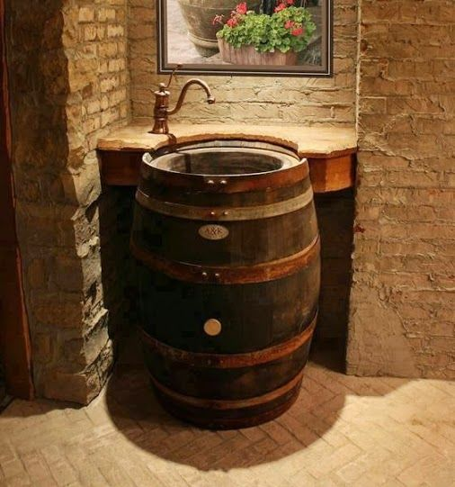 Best 25 whiskey barrel bar ideas on pinterest barn for Diy whiskey barrel bar