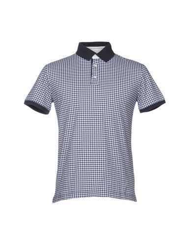 FIORIO Men's Polo shirt Dark blue M INT