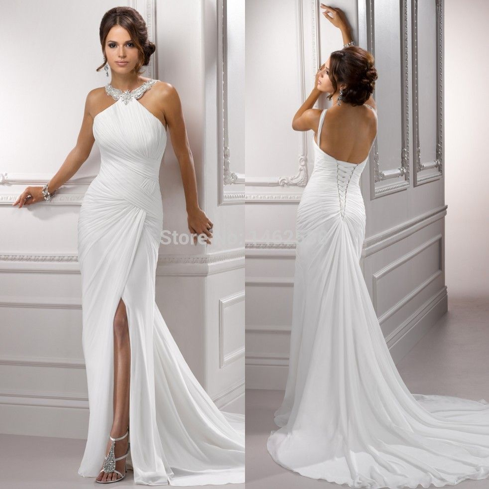 Thats me amys dream pinterest backless beach wedding dresses love the dress ombrellifo Image collections