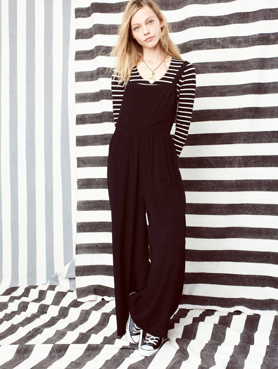 d7fe77a0075 madewell smocked crop jumpsuit worn with the song scoop bodysuit ...