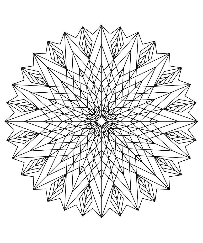 pour imprimer ce coloriage gratuit coloriage mandala adulte 9 cliquez