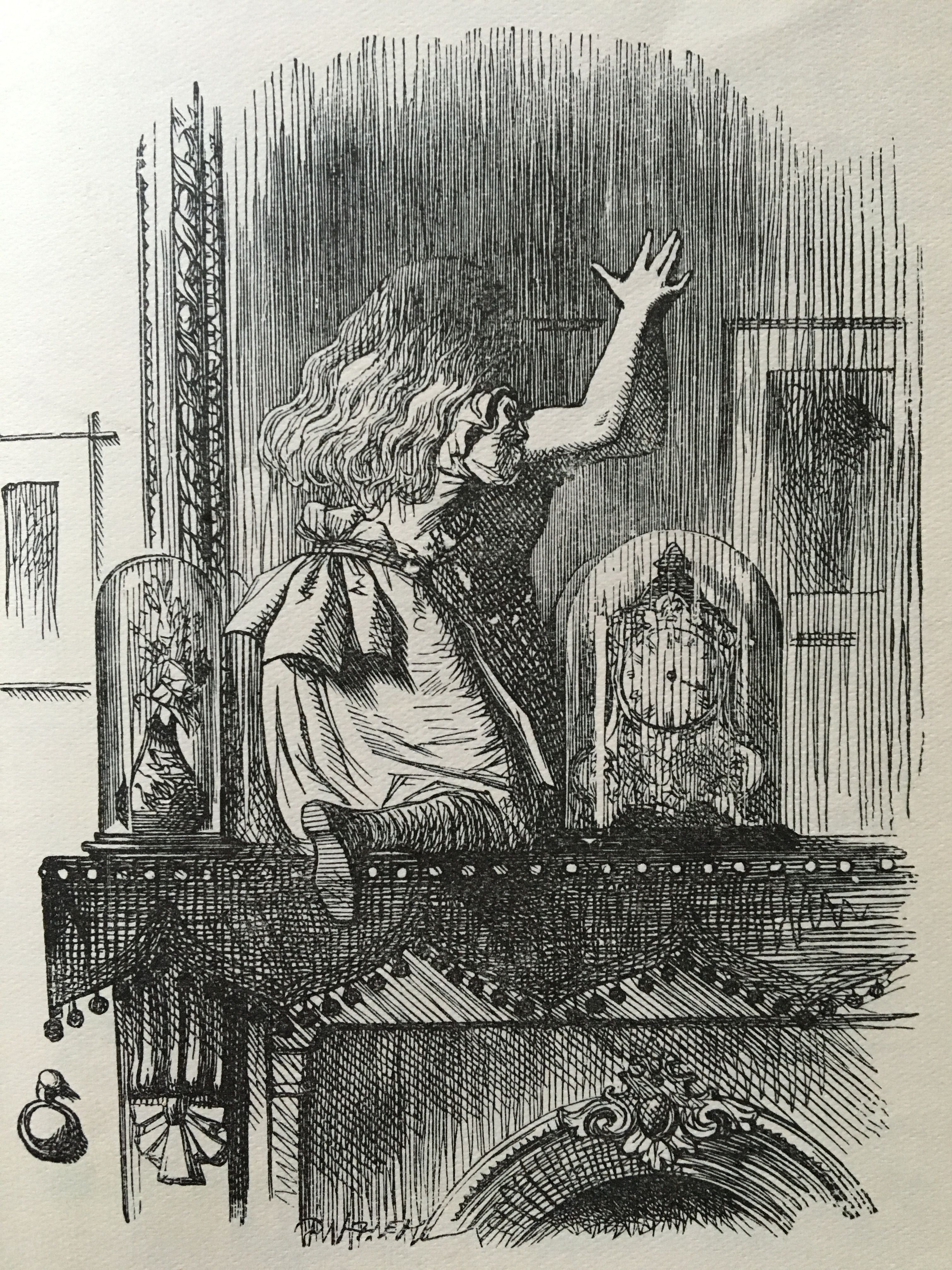 John teniell illustration from alices adventures in