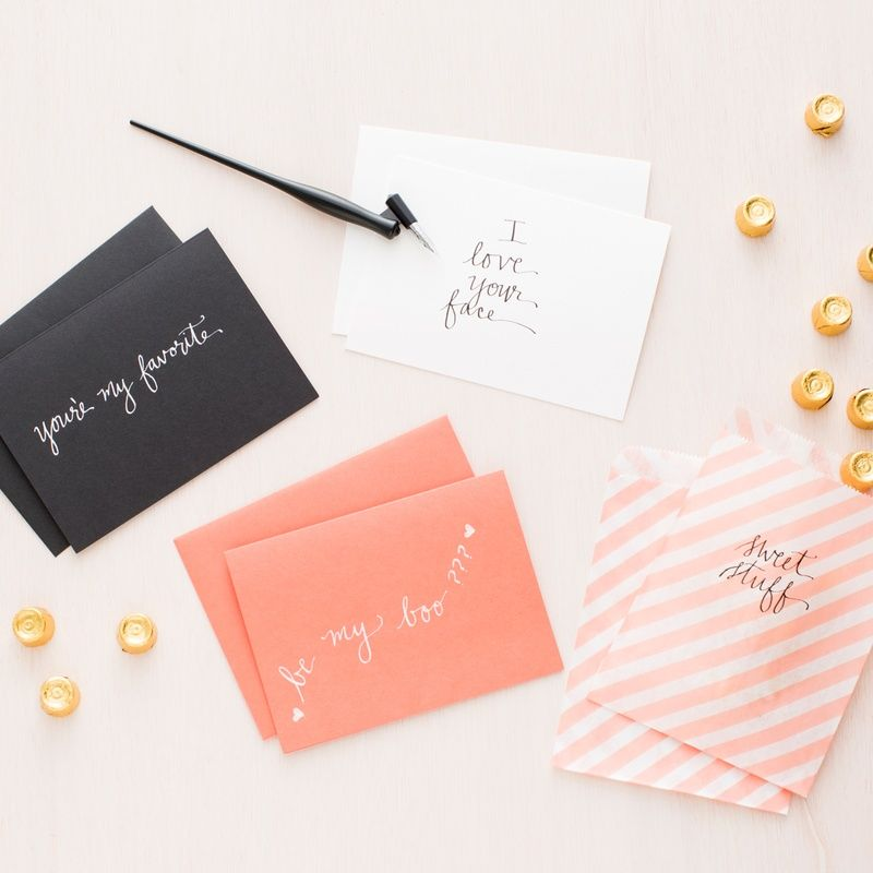 Take your handwriting to the next level with this Calligraphy 101 Kit.
