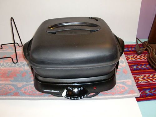 Hamilton Beach 2 In 1 Electric Skillet Griddle Step Savor