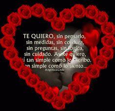 SUEÑOS DE AMOR Y MAGIA: Te Quiero