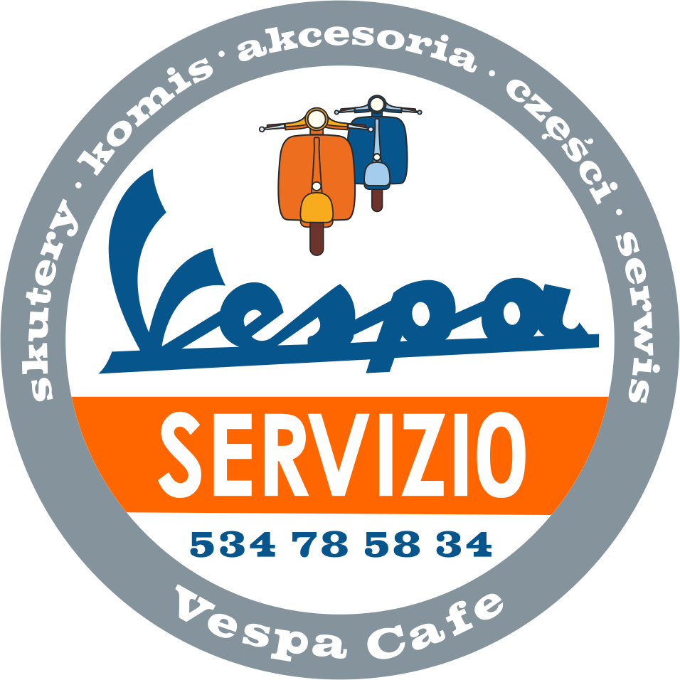 #Vespa Cafe #scooter magnet