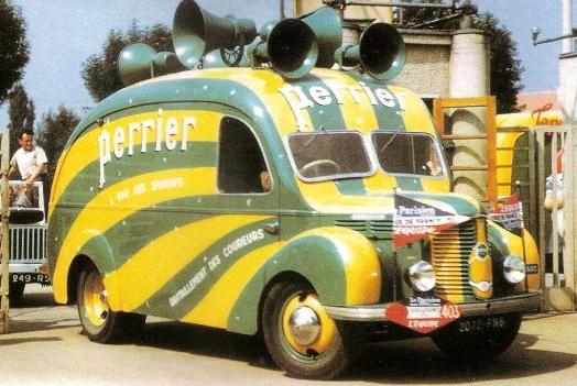 1950 Hotchkiss Pl20 Perrier Tour De France Tour De France Classic Trucks Big Trucks
