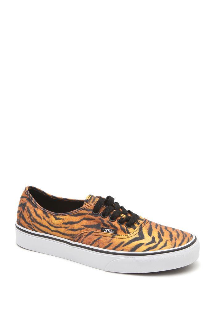 tiger striped vans very kool. Women's VansVans ShoesShoes ...