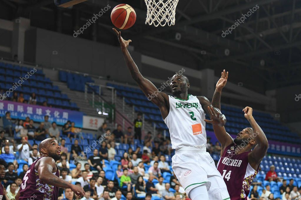 CHINA CHINESE JIANGSU SUZHOU 2019 BASKETBALL CHALLENGE - Stock Photo ,