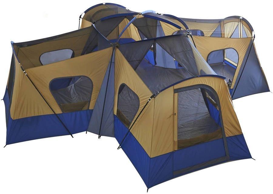 Casa Campaña Ozark Trail Base Camp 14 person Cabin Tent