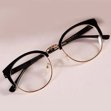 2020 Women Glasses Computer Eyeglasses Spectacles Online Frame Without Lens