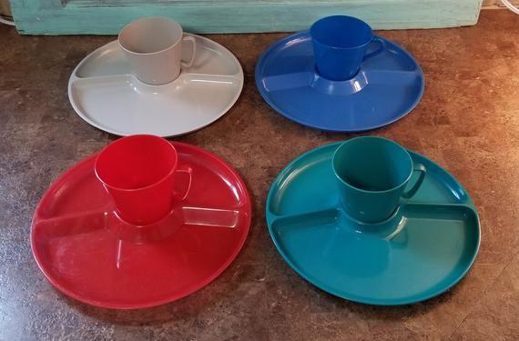 STERI-LITE Designer Style Patio Dish Ware & Mugs - Camping Dishes/Cups - Picnic Ware - Patio Ware #dishware