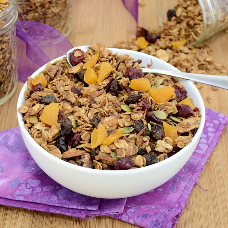 Sweet Pea's Kitchen » Maple-Nut Granola