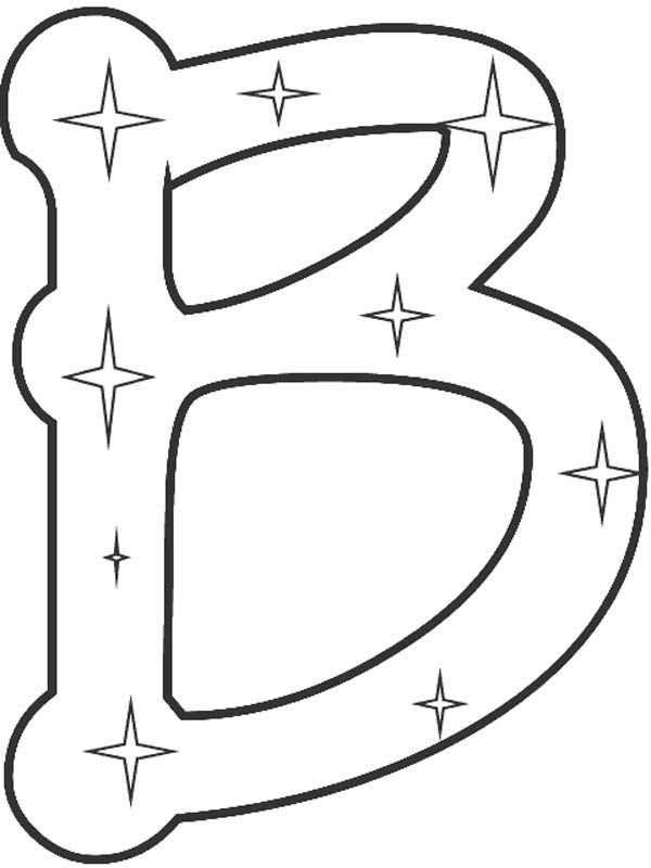 8 Best Letter B Coloring Pages Images On Pinterest