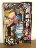 MONSTER HIGH NIB Neighthan Rot Freaky Fusions Zombie Unicorn Doll