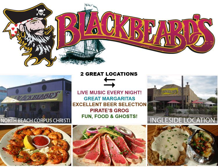 Blackbeards Restaurant In Corpus Christi Texas Seafood