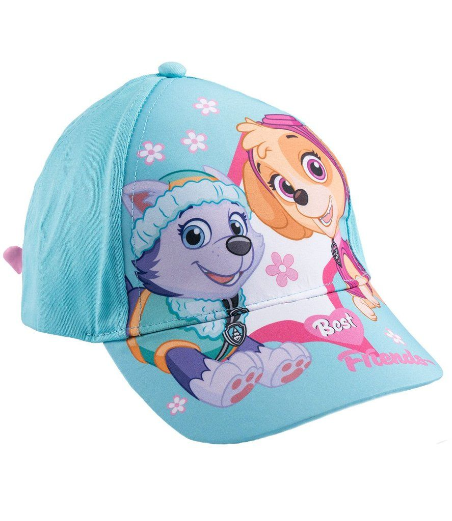huge selection of 81d9e 3a853 Nickelodeon Paw Patrol Girls Summer Cap, Adjustable Sun Hat 52, 54 cm 3-10  years - Turquoise