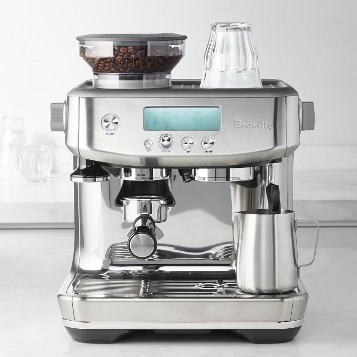 Breville Barista Pro Espresso Machine Williams Sonoma In 2020 Percolator Coffee Espresso Machine Espresso