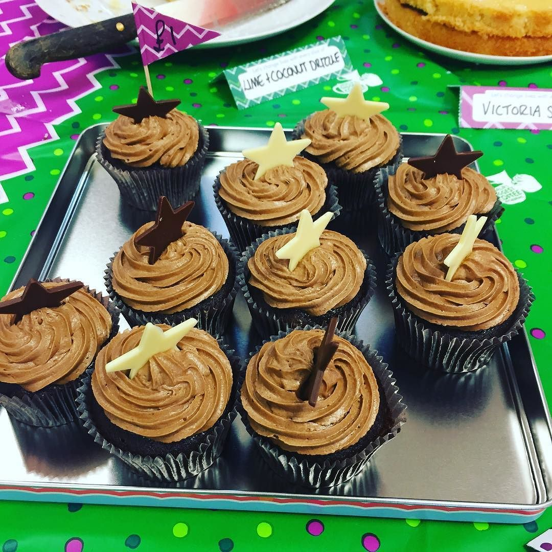 #MacMillan Coffee Morning at work and I've fallen for the cupcakes!! #cake #kent #folkestone