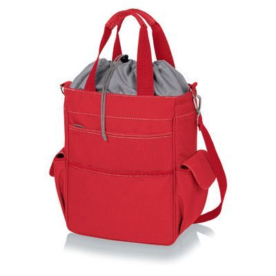 Picnic Time Activo Picnic Cooler Color: Red