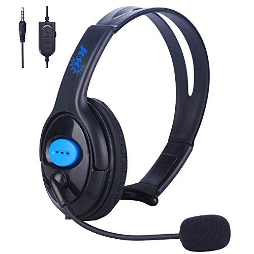 Joso Wired PS4 Gaming Chat Headset With Mic Volumn Control