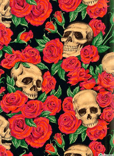 Ahriduik Nicole S Prints Resting In Roses Black Skull