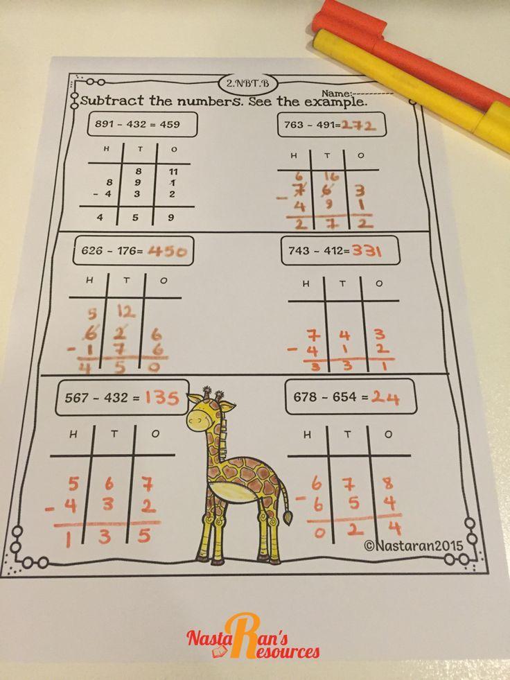Math Worksheets Second Grade | Printable worksheets, Math skills and ...