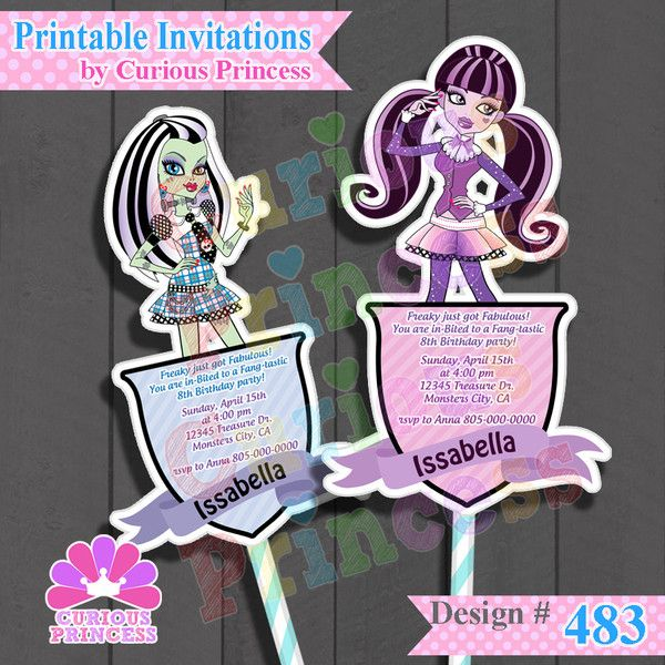 Monster High Monsters Inspired Birthday Party Ideas Supplies 1500