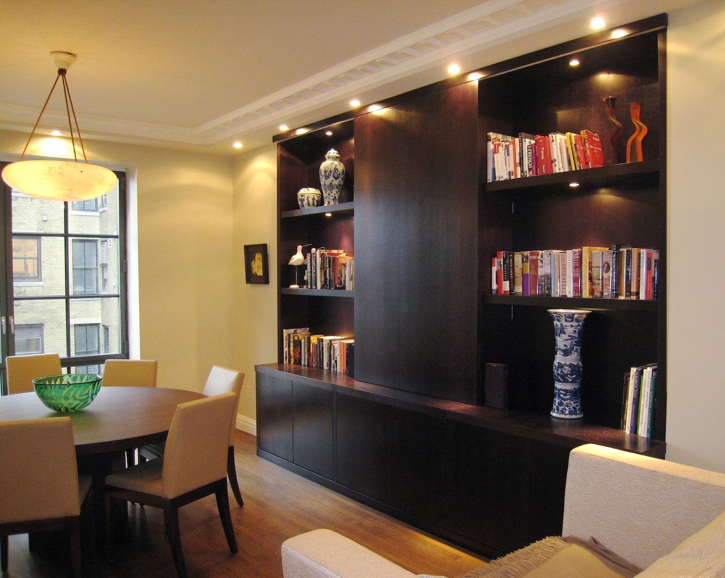 dark wood contemporary wall unit contemporary wall units. Black Bedroom Furniture Sets. Home Design Ideas