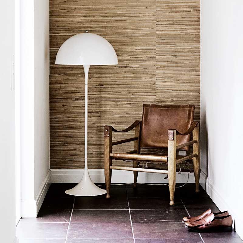 Panthella Gulv, gulvlampe fra Louis Poulsen, designet av Verner Panton F Pinterest