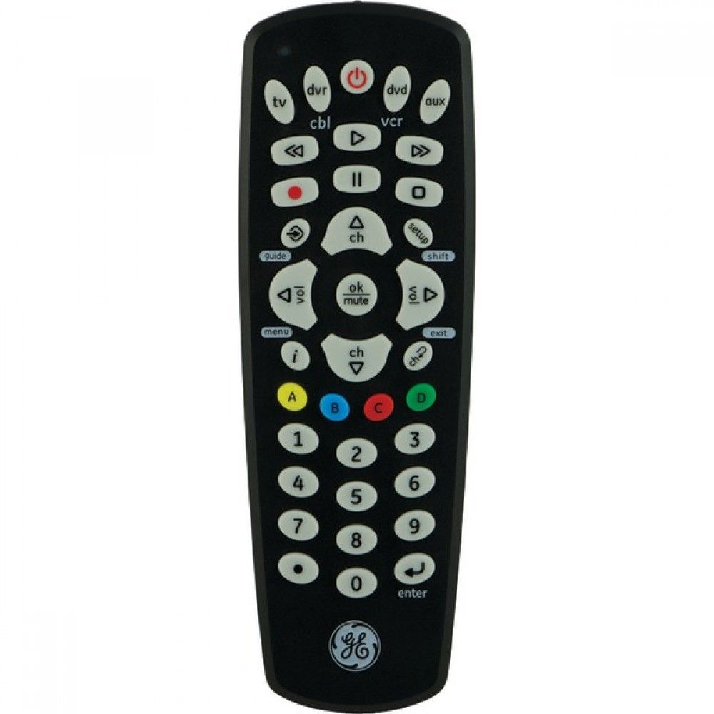 Ge 25039 4device universal remote universal remote