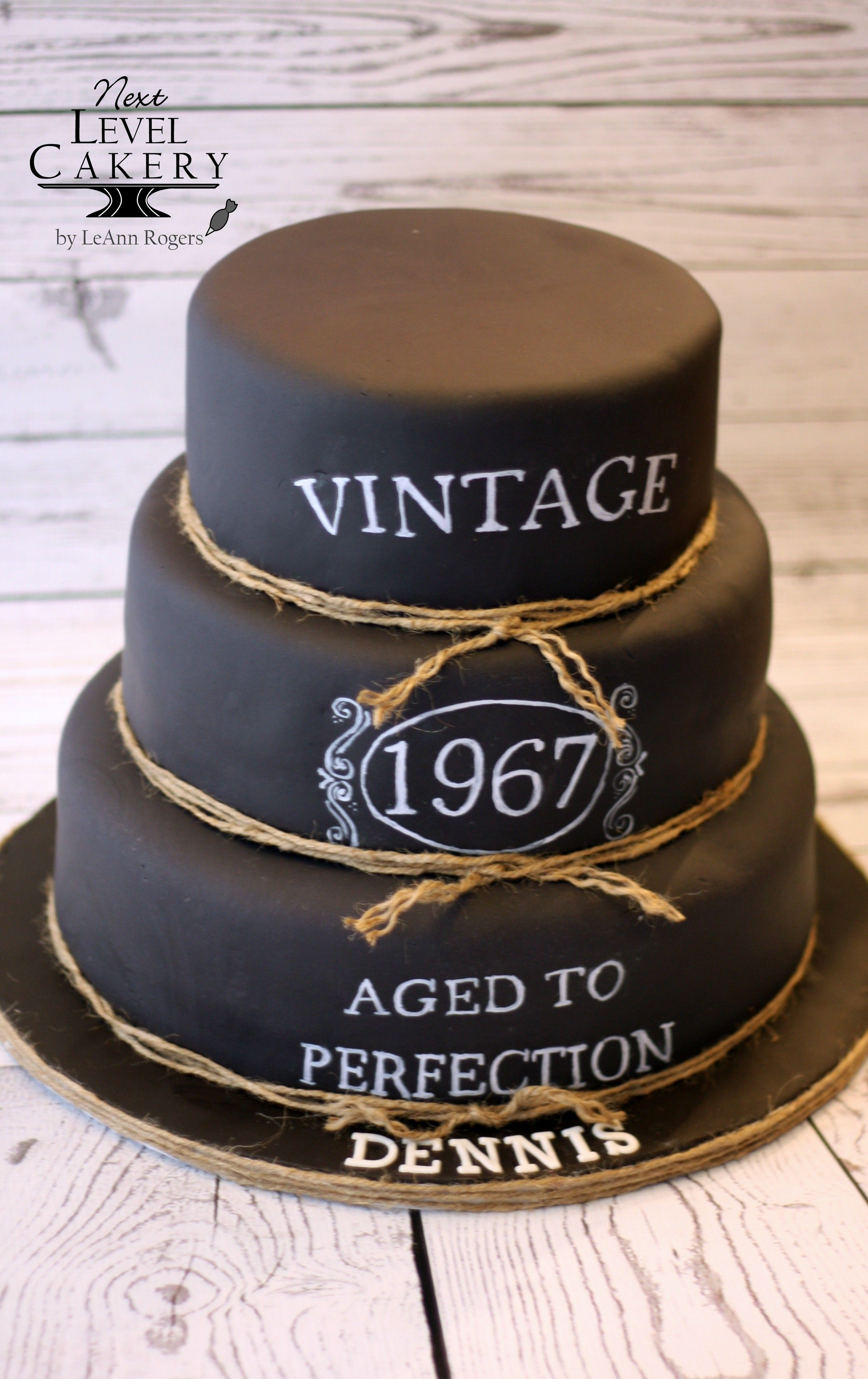 Black And White Vintage Chalkboard Lettering With Images 40th