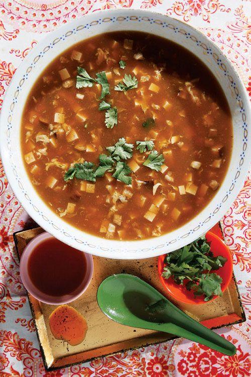 Suan La Tang Hot And Sour Soup Hot And Sour Soup Sour Soup Food