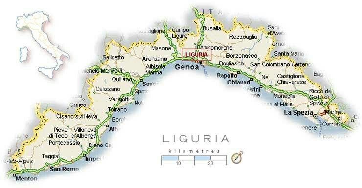Pin Von Eridanus Auf Liguria